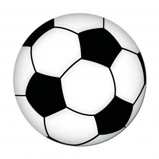Aufkleber 15cm Sticker Ball Fußball Fan Fußballaufkleber Fußballsticker EM WM - Vorschau 1
