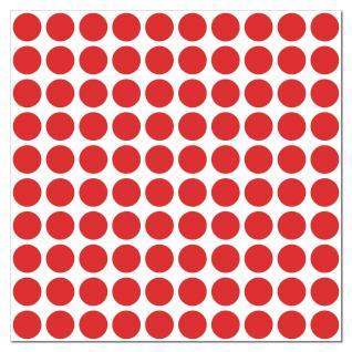 1000 Klebepunkte 18mm selbstklebende Punkte Aufkleber Folie Etiketten Inventur
