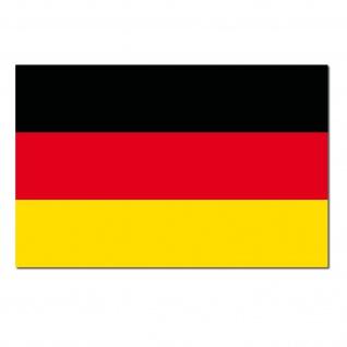 5 Aufkleber 8cm Sticker BRD Deutschland Fußball WM EM National Fahnen Flaggen - Vorschau 3