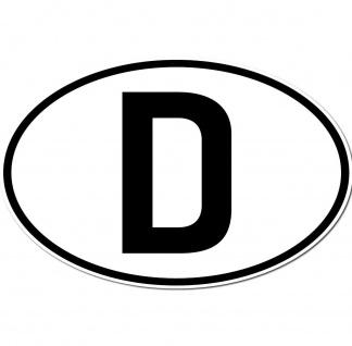 D Aufkleber Sticker BRD GER Deutschland Länderkennzeichen Auto Schild Zeichen - Vorschau 2