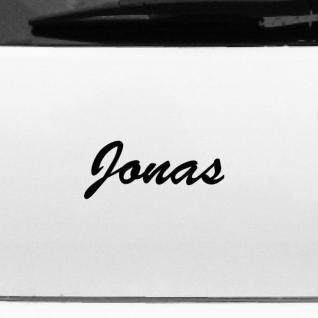 Jonas 18cm Kinderzimmer Name Aufkleber Tattoo Deko Folie Auto Fenster Schrank