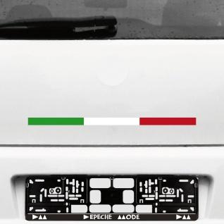 2 Aufkleber Tattoo 44cm Deko Auto Folie Italien mod scooter Flagge Autoaufkleber