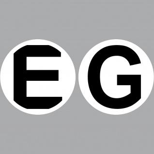 2 Aufkleber 10cm E G Erdgeschoss Sticker Tür Etage Stockwerk Wohnheim Haus Heim