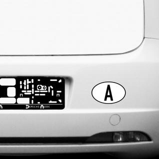 A Aufkleber Auto Sticker AUT AT Österreich Land Länderkennzeichen 4061963019863 - Vorschau 3