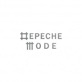 Universe silber S Schriftzug Auto Fenster Tür Depeche Mode Aufkleber Tattoo