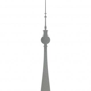 Aufkleber 100cm Fernsehturm Berlin Alexanderplatz Telespargel Tattoo Deko Folie