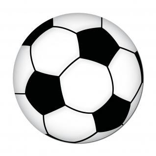 Ball 10cm Fußball Bälle Fußballsticker Fußballaufkleber Aufkleber Sticker EM WM