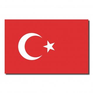 10 Aufkleber 8, 5cm Sticker Türkei Türkiye Fußball EM WM National Flagge Fahne
