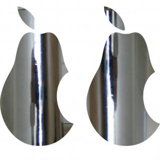 2 Aufkleber 10cm Birne Laptop Tablet Notebook Tattoo Deko Folie Apple verarsche