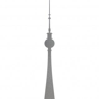 Aufkleber 30cm Tattoo Berliner Fernsehturm Telespargel Alexanderplatz Deko Folie