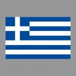 Aufkleber 8, 5cm Sticker GR Griechenland Flagge Fahne Fußball Fan EM WM Deko