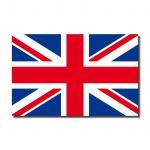 10 Aufkleber 6, 5cm Sticker England UK ENG GB Fußball Fan Deko EM WM Flagge Fahne