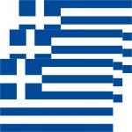 3 Aufkleber 8, 5cm Sticker GR Griechenland Fußball EM WM National Flagge Fahne