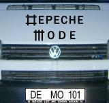 Aufkleber Depeche Mode Univers Schriftzug Tattoo Auto Deko Folie Heck Scheibe