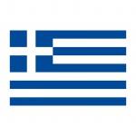 20 Aufkleber 8, 5cm Sticker GR Griechenland Fußball EM WM National Flagge Fahne