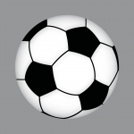 Aufkleber 10cm Sticker Fußballaufkleber Fußballsticker Fußball Fan Ball EM WM