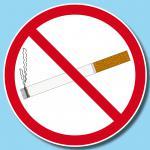 50 Aufkleber 15cm Sticker Rauchen Verboten Nichtraucher Rauchverbot Warn Schild