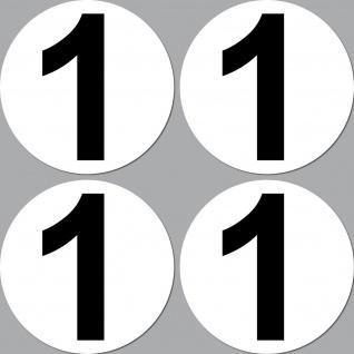 4 Aufkleber 10cm Sticker Startnummer Racing Nummer Nr Auto Motorrad Kart Sport Yategocom