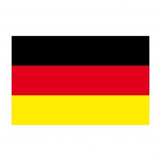 Aufkleber 8cm Sticker D BRD Deutschland Flagge Fahne Fußball Fan EM WM Deko - Vorschau 3
