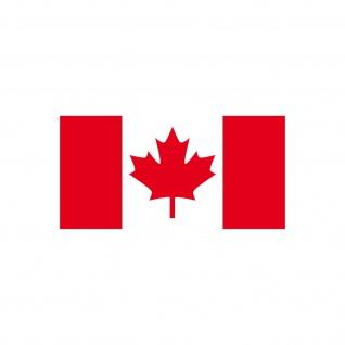 Aufkleber 6, 5cm Sticker CAN Kanada canadian Flagge Fahne Fußball Fan EM WM Deko - Vorschau 3