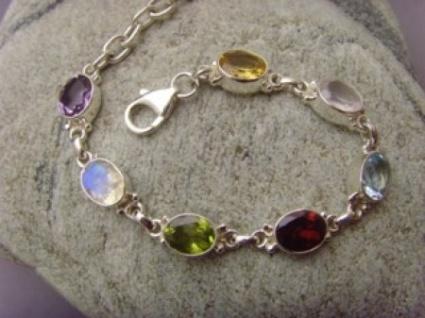 Armband - Multicolor - 925er Silber