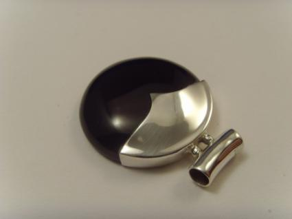 Onyx-Anhänger 925er Silber