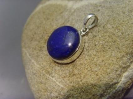 Lapis-Lazuli 925er Silber rund