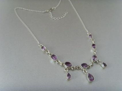 Amethyst - Collier 925 Silber