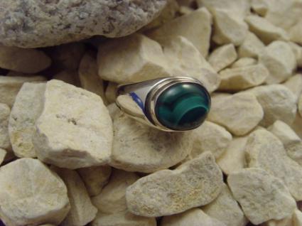 Malachit-Ring 925er Silber