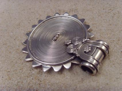 Anhänger 925er Silber altes indisches Design