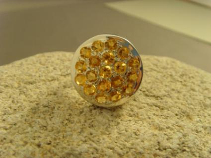 Citrin-Ring 925er Silber - Vorschau 2