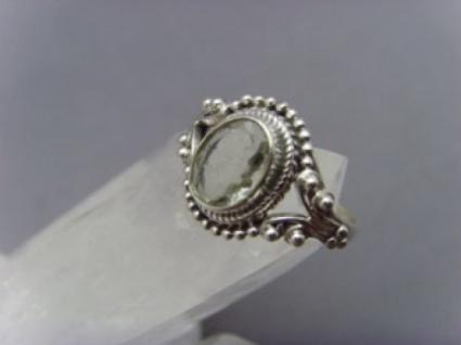 Turmalin Ring 925er Silber facettiert