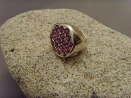 Amethyst-Ring 925er Silber