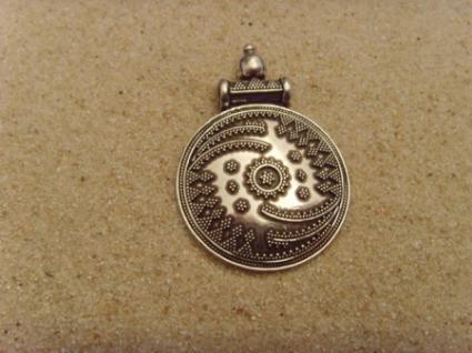 Silberanhänger (antikes-Design) - 925er Silber