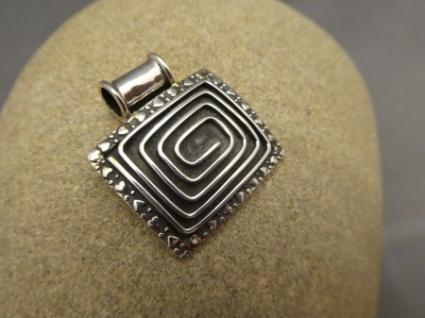 Silberanhänger- Handarbeit - 925er Silber