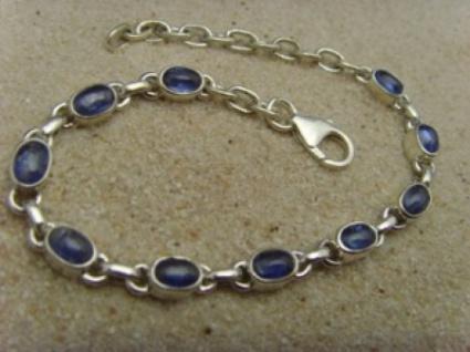 Armband - Kyanit - 925er Silber