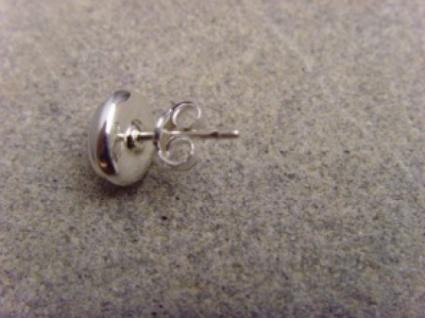 Ohrstecker-Mondstein oval - 925er Silber - Vorschau 4