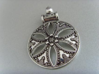 Silberanhänger (antikes Design) - 925er Silber