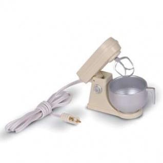 Bodo Hennig 27441 - Küchenmaschine beige mit Motor für Puppenstube