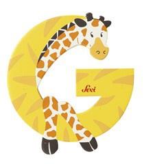 Sevi 81607 - Buchstabe Giraffe G