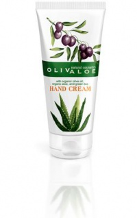 OLIVALOE 00148 - Organic Hand Cream - Handcreme 100ml, Naturkosmetik