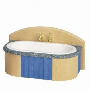 Bodo Hennig 23776 - Badewanne für Puppenstube (Landhaus-Programm)