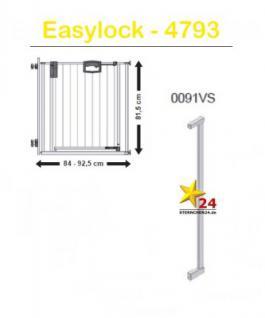 GEUTHER 0091VS Zusatzteil Easy Lock Verlängerung 8cm