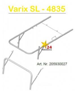 GEUTHER 205930027 Ersatzteil Schubstange mit Bügel für Varix SL 4835