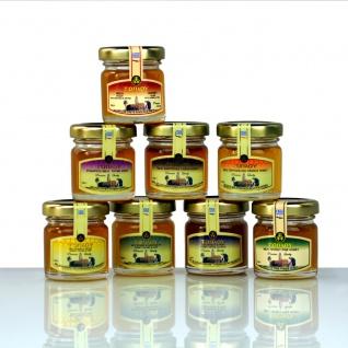 SI-MEL SAVIDAKIS 12499 - PROBIERSET 8 x 40g verschiedene TOPLOU Honig Sorten 320g von Kreta
