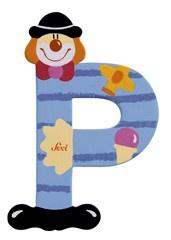 Sevi 81752 - Buchstabe Clown P
