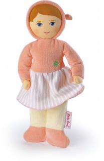Käthe Kruse 0170219 - Glücksengel Frottee Baby apricot, orange