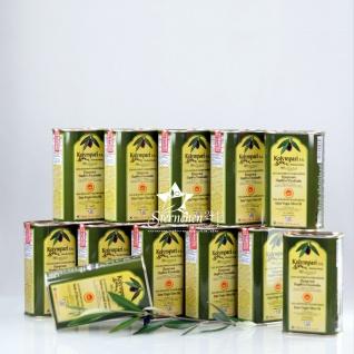 KOLYMPARI PDO 04033 - 12x 500ml Natives Olivenöl Extra Kolympari Mihelakis Dose (= 6L)