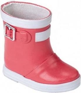Käthe Kruse 33434 - Puppenschuhe Regenstiefel pink für Stehpuppen