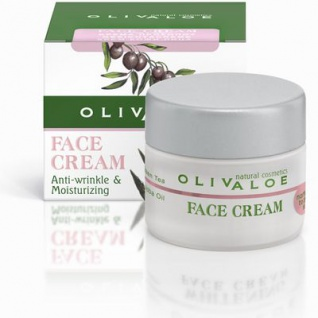 OLIVALOE 00143 - FACE CREAM (Normal to dry skin) - Gesichtscreme für normale bis trockene Haut 40ml, Naturkosmetik